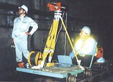 鉄道トンネル修復技術