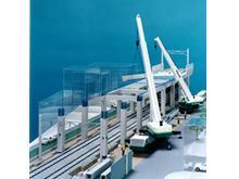 鉄道ラーメン高架橋のプレキャスト構築工法 高架橋ハーフプレキャスト工法