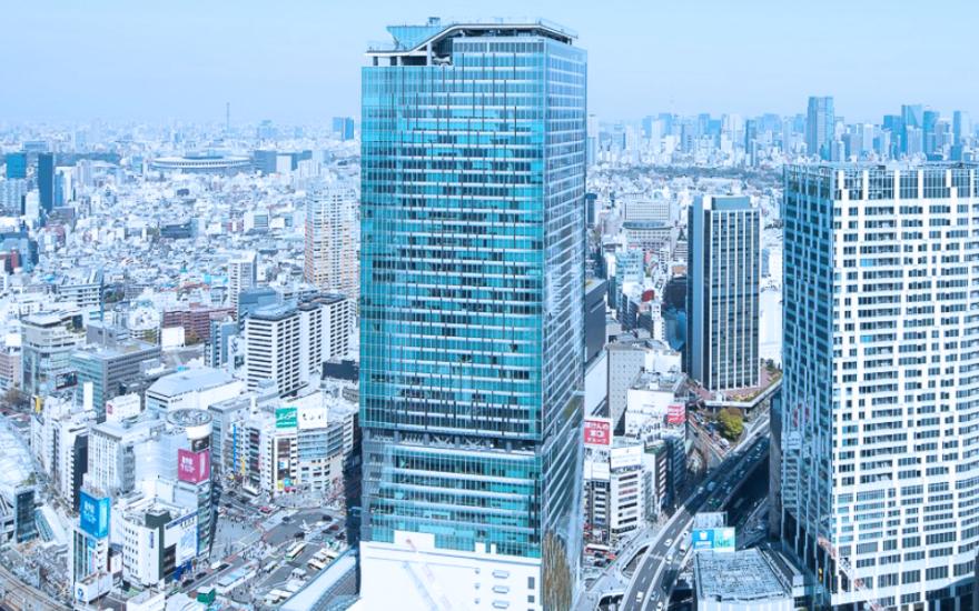 Phase I of SHIBUYA SCRAMBLE SQUARE (East Tower)